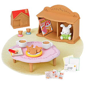 Sylvanian Families Calico Critters Sister Room Play-Set ...