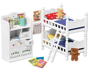 Home » [Furniture] » Calico Critters Childrenu0027s Bedroom Set