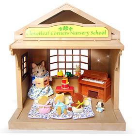 Home S Calico Critters Cloverleaf Corner Nursery School