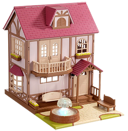 Sylvanian Families Calico Critters Fountain House