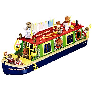 Sylvanian Families Calico Criiters Riverside Canal Boat
