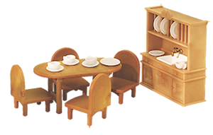Home » [Furniture] » Calico Critters Country Dining Room Set