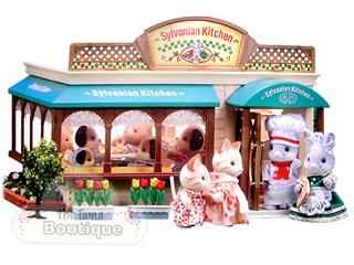 Sylvanian Families Calico Critters Kitchen Restaurant