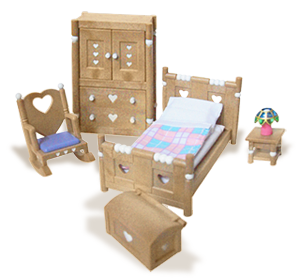Custom Calico Critters Bedroom Set Plans Free