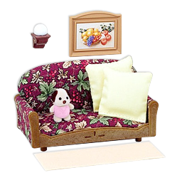 Sylvanian Families Cozy Living Room Set